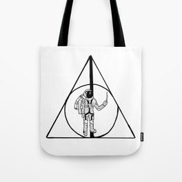 Deathly Hollows Astronaut Tote Bag