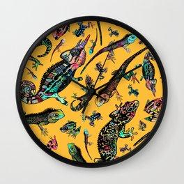 curry friends Wall Clock