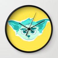 elf Wall Clocks featuring Elf by Gabriel