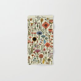Wildflower Chart Hand & Bath Towel