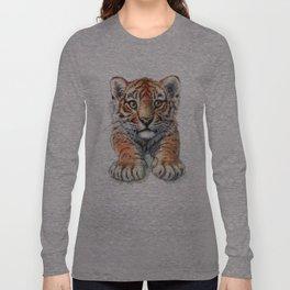 Playful Tiger Cub 907 Long Sleeve T-shirt