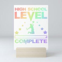 Gamer Fun High School Level Complete Graduation Mini Art Print