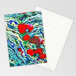 Oil color painting Stationery Cards