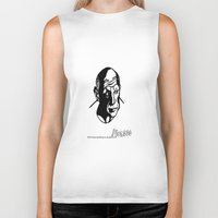 picasso Biker Tanks featuring Picasso  by April Delgado / Illustrator