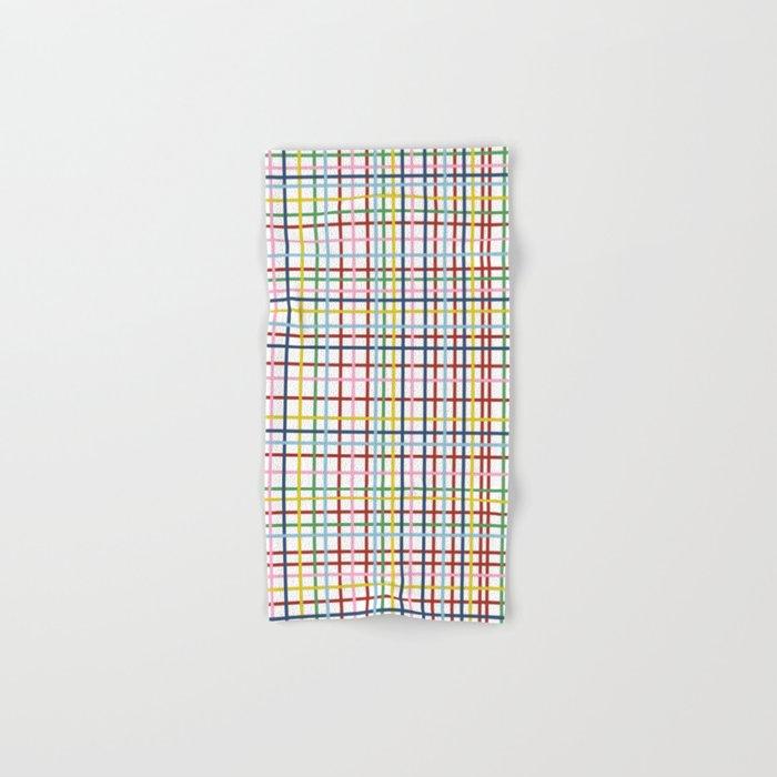 Rainbow Weave Hand & Bath Towel