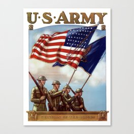 US Army -- Guardian Of The Colors Canvas Print