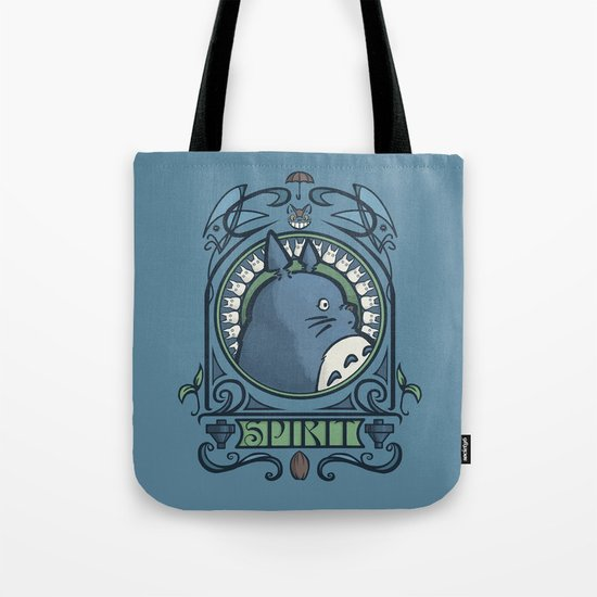 Forest Spirit Nouveau Tote Bag