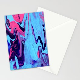 Paint Pouring 26 Stationery Cards