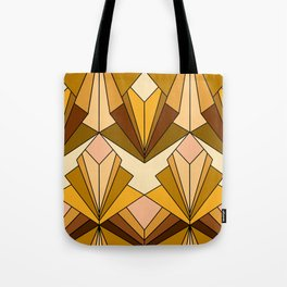 Art Deco meets the 70s - Large Scale Tote Bag