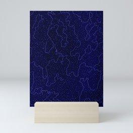 Squiggle 5 Mini Art Print