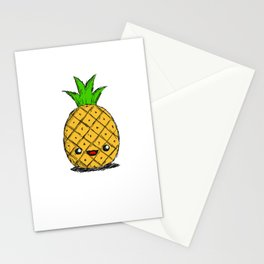 Cute Pineapple Stationery Cards