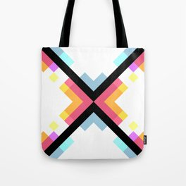 Abstract Retro Pattern 05 Tote Bag