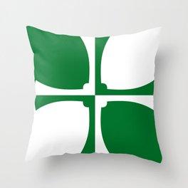 Kirkcudbrightshire fag Throw Pillow
