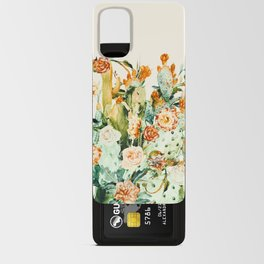 Succulent flowered cactus Android Card Case
