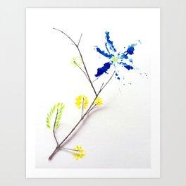 Flower Me Art Print