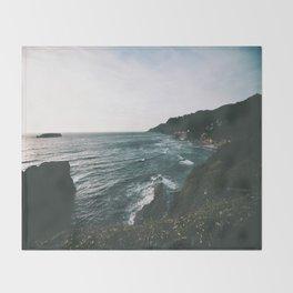 Oregon Coast IX Throw Blanket