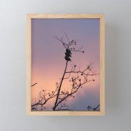 The Third Bird Framed Mini Art Print