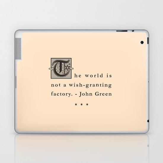 Wish-Granting Factory Laptop & iPad Skin