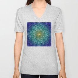 Pure Growth Mandala Unisex V-Neck