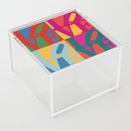 Love Pop Art Acrylic Box
