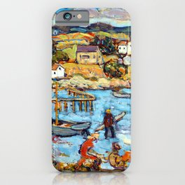 Maurice Prendergast Marblehead Harbor iPhone Case