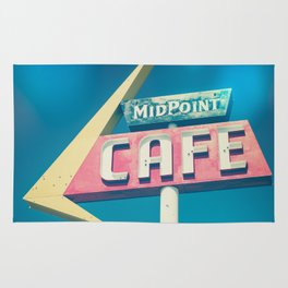 Route 66 MidPoint Cafe Rug