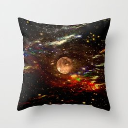 WE AND THE UNIVERSE Throw Pillow