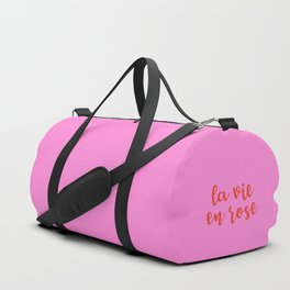 La vie en rose Duffle Bag