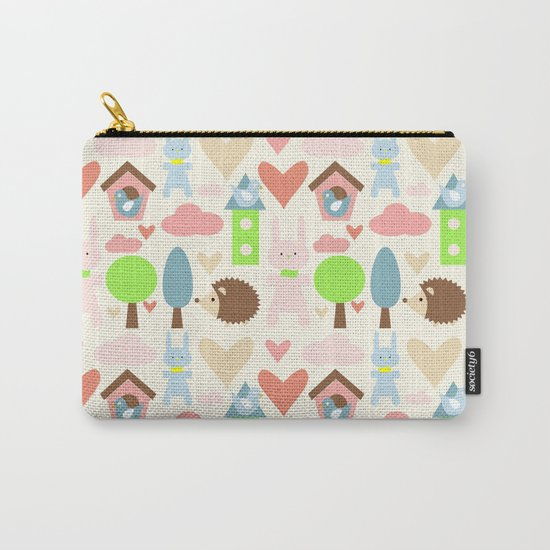 Bunny fun land Carry-All Pouch