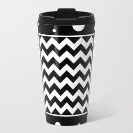 Chevron And Fizz Travel Mug