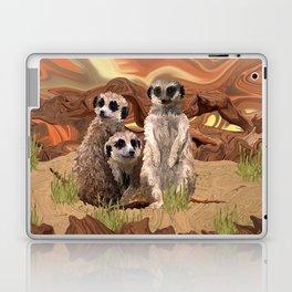 Three Meerly Meerkats  Laptop & iPad Skin