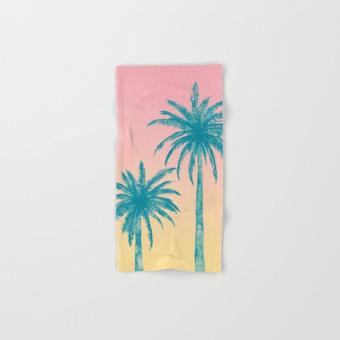 Palm Trees Hand Bath Towel