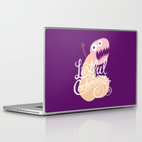 nfl Laptop & iPad Skins featuring Lustful Cockmonster by Chris Piascik