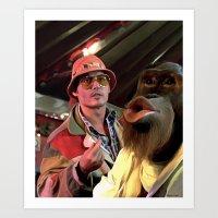 Johnny Depp @ Fear and Loathing in Las Vegas #2  Art Print