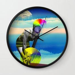 Mrs. Flubber Wall Clock