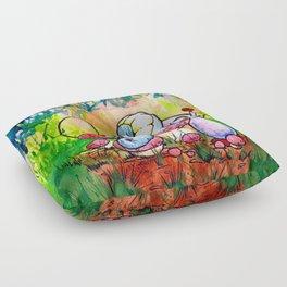 Caterpillar Floor Pillow