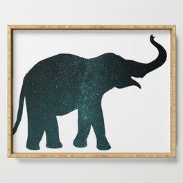 Universe Elephant Serving Tray