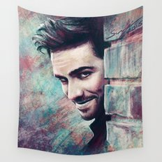 Captain's Grin Wall Tapestry