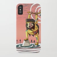 indiana iPhone & iPod Cases featuring Go indiana by Hugues Monki Maton
