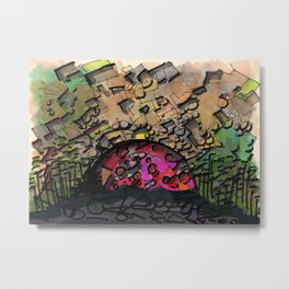 Chaos Architectural Illustration 67 Metal Print