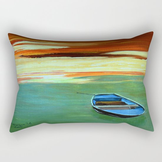 End of the day  Rectangular Pillow