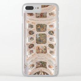 Waldsassen Basilica Ceiling (Choir) Clear iPhone Case