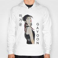 kpop Hoodies featuring C.R.A.Z.Y Gayoon by Ahri Tao