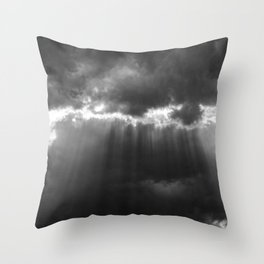 Black Light Throw Pillow