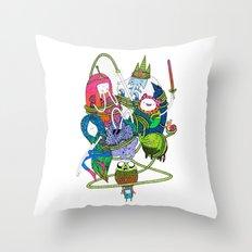 Adventure Time fan art celebration! Throw Pillow