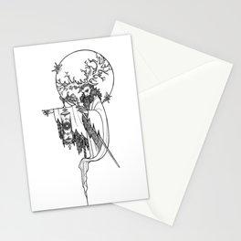 Major Arcana IX The Hermit Stationery Cards