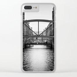 City Of Bridges Clear iPhone Case