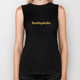 Xanthophobic Biker Tank