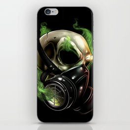 Skull/Gas mask 12 iPhone Skin