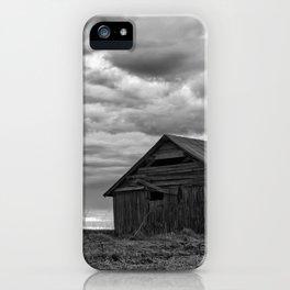 Finland Farm (Black and White) iPhone Case